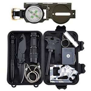 kit de supervivencia muchas herramientas